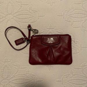 Coach mini wristlet/wallet